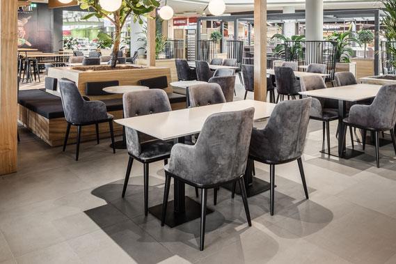 Enterijer kafića i restorana - Linea Milanovic