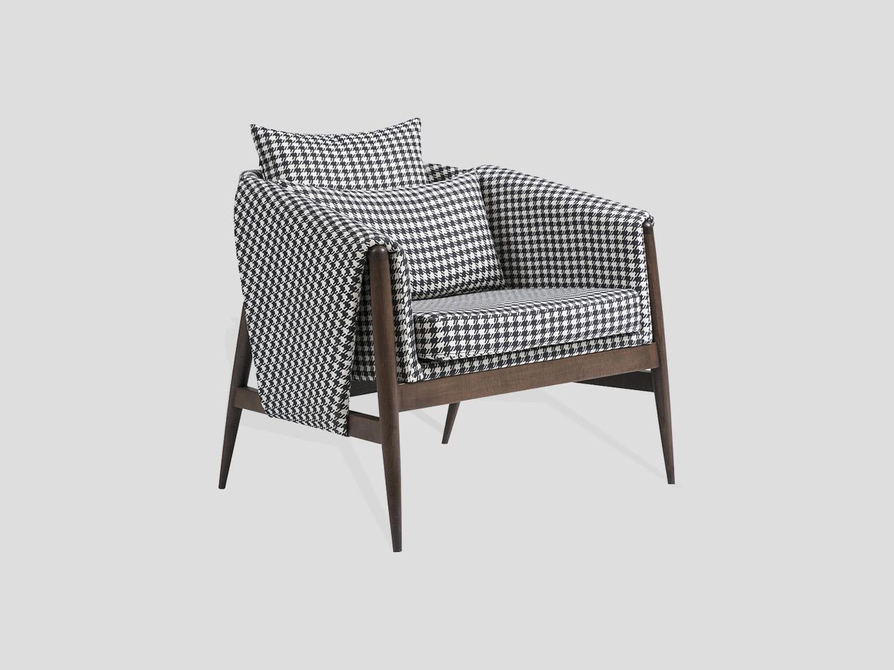 gizele moderna retro fotelja